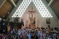 Jasełka w kościele w Zebrzydowej 2019