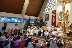 Jasełka w kościele - Zebrzydowa